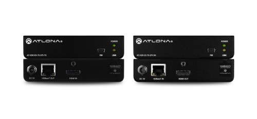 Atlona AT-HDR-EX-70-2PS AV extender AV transmitter & receiver