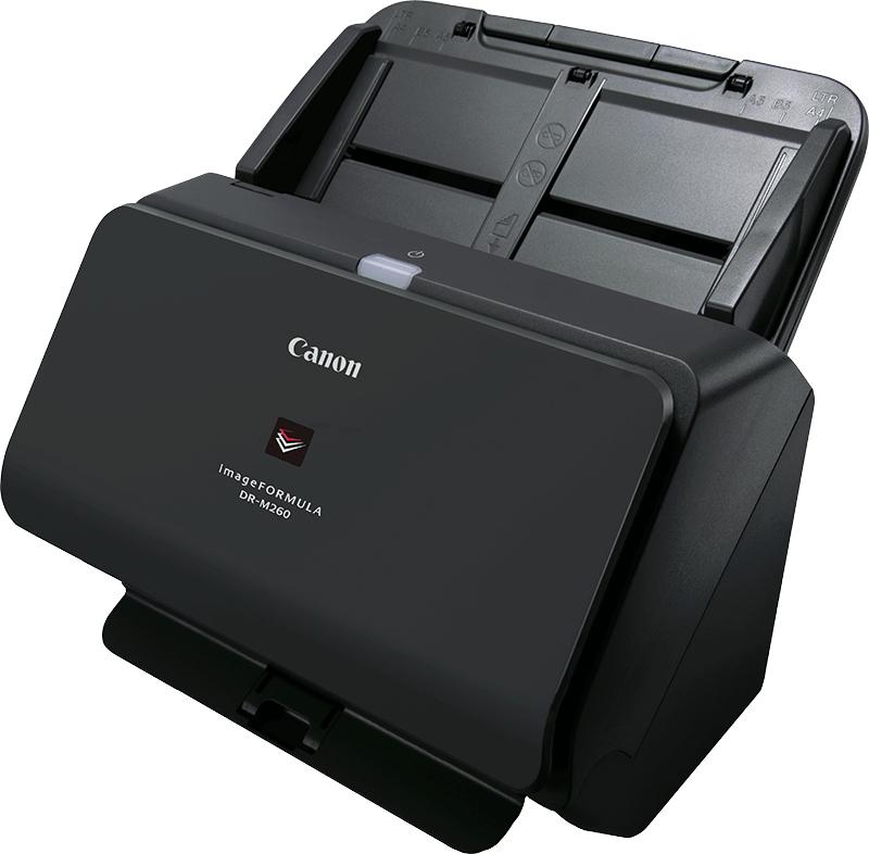 Canon imageFORMULA DR-M260 600 x 600 DPI Escáner alimentado con hojas Negro A4