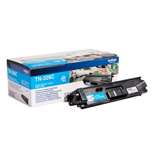 Brother TN-326C Toner cyan, 3.5K pages