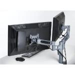 "Kensington K60273WW 24"" Clamp Titanium flat panel desk mount"