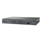 Cisco 887VA Ethernet LAN ADSL2+ Black
