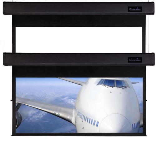 Sapphire AV SSM300RADWSF projection screen 3.45 m (136