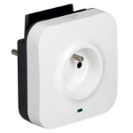 Legrand 50671 Indoor 3500W Black,Grey,White power adapter/inverter