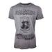 JACK DANIEL'S Men's Charcoal Mellowed 'Drop by Drop' T-Shirt, Medium, Grey (TS050400JDS-M)