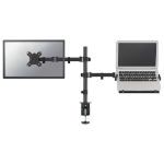 Newstar flat screen and notebook desk mount