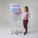 Metroplan Ultimate Mobile Flipchart White easel