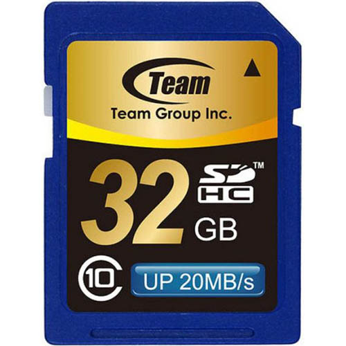 TEAM GROUP MEMORY CARD SDHC 32GB CLASS 10