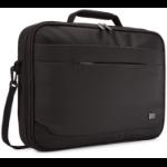 "Case Logic Advantage ADVB-116 Black notebook case 39.6 cm (15.6"") Messenger case"