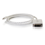 C2G 2.0m Mini DisplayPort M / Single Link DVI-D M 2m Mini DisplayPort DVI-D White