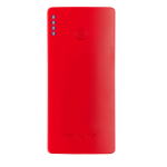 PNY PowerPack Curve 5200 Lithium-Ion (Li-Ion) 5200mAh Red power bank