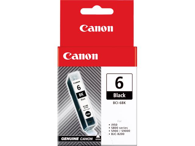Canon BCI-6 BK Original Negro 1 pieza(s)