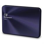 Western Digital My Passport Ultra Metal Edition, 1TB 1000GB Black,Blue external hard drive
