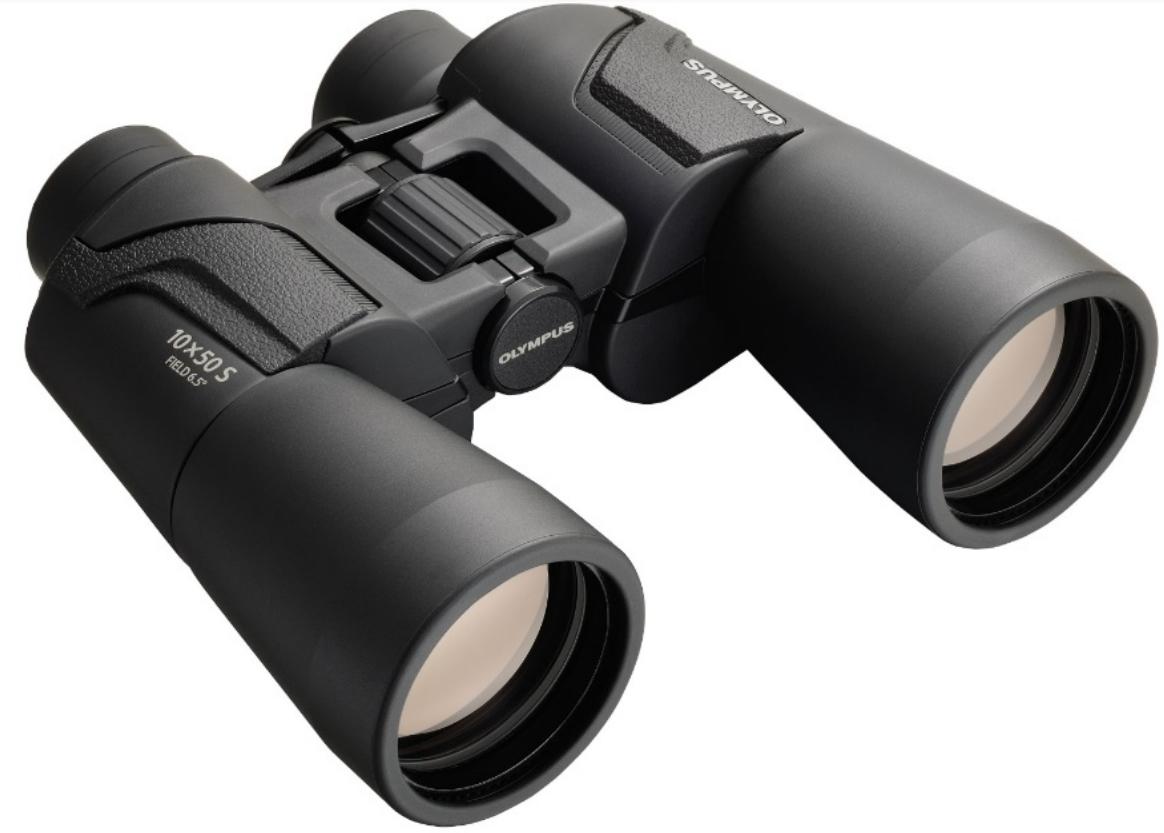 Olympus 10x50 S binocular Porro Black