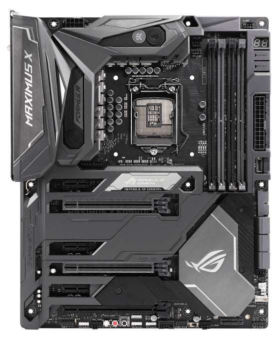 ASUS ROG Maximus X Formula Intel® Z370 LGA 1151 (Socket H4) ATX