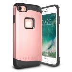 "TheSnugg B01KA2KHXC 5.5"" Cover Pink gold mobile phone case"