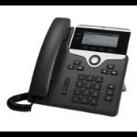 Cisco 7821, Refurbished IP phone Black 2 lines