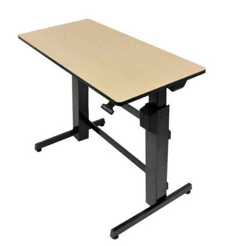 Ergotron WorkFit-D, Sit-Stand Desk Sand computer desk