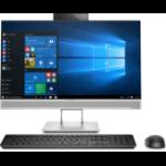 HP EliteOne 800 G4 60,5 cm (23.8 Zoll) 1920 x 1080 Pixel 3,2 GHz Intel® Core™ i7 der achten Generation i7-8700 Schwarz, Silber All-in-One-PC