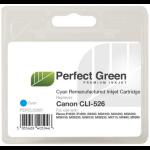 Perfect Green CLI526CCOMP Cyan ink cartridgeZZZZZ], CLI526CCOMP