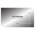V7 PS156W9AB display privacy filters Frameless display privacy filter 15.6""