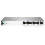 Hewlett Packard Enterprise BladeSystem 2530-24G-PoE+ Power over Ethernet (PoE) Rack (1U) Black
