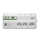 Home/Office SurgeArrest 6 outlets with Phone & Coax Protection 230V Germany