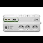APC Stekkerdoos met overspanningsbeveiliging 6x stopcontact + Coax + Telefoon