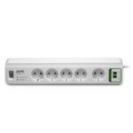 APC PM5T-GR surge protector White 5 AC outlet(s) 230 V 1.83 m