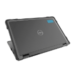"Gumdrop Cases SlimTech notebook case 33.8 cm (13.3"") Shell case Black, Transparent"