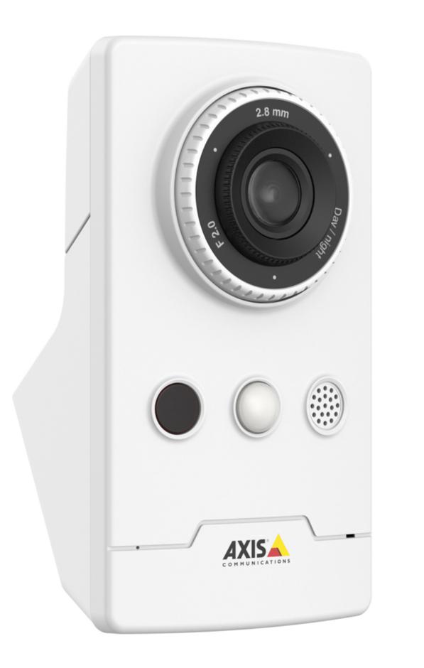 Axis M1065-LW Cámara de seguridad IP Interior Cubo Escritorio/pared 1920 x 1080 Pixeles