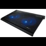 "Trust 20104 notebook cooling pad 43.9 cm (17.3"") Black"