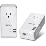 Trendnet TPL-421E2K 1200Mbit/s Ethernet LAN connection White 2pcs PowerLine network adapter