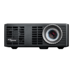 Optoma ML750 Portable projector 700ANSI lumens DLP WXGA (1280x720) Black data projector