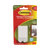 COMMAND 3M COMMAND MEDIUM PICTURE HANGING STRIPS