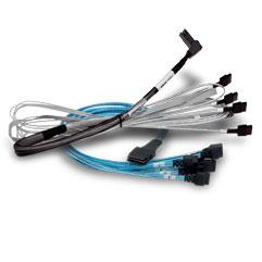 BC Kabel CBL-SFF8654-8643 MSAS SAS 1m SAS Connection for Controller Series 95xx