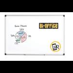 Bi-Office Maya Dry Wipe Aluminium Framed Wtbrd 60x90cm DD