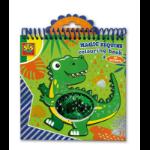 SES Creative Magic sequins colouring book (blue-green)