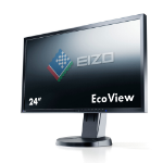 "EIZO FlexScan EV2416WFS3 24"" TN+Film Black computer monitor"