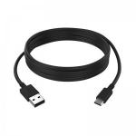 Kit ESDC-CA-3MBK USB cable 3 m USB A USB C Black