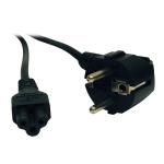 """Tripp Lite P058-006 power cable Black 72"""" (1.83 m) CEE7/7 C5 coupler"""