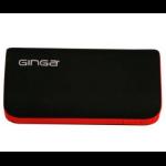 Ginga GI16PBK02-NR 4000mAh Negro, Rojo batería externa