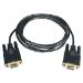 Tripp Lite Null Modem Serial DB9 Serial Cable (DB9 F/F), 10-ft.
