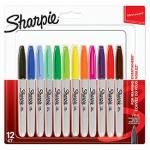 Sharpie 2065404 permanent marker Multicolour 12 pc(s)