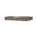 Tenda TEF1024D network switch Unmanaged Fast Ethernet (10/100) Beige