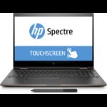 "HP Spectre x360 15-ch000na 1.8GHz i7-8550U 15.6"" 3840 x 2160pixels Touchscreen Black, Silver Hybrid (2-in-1)"