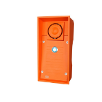 2N Telecommunications 9152101W Orange audio intercom system