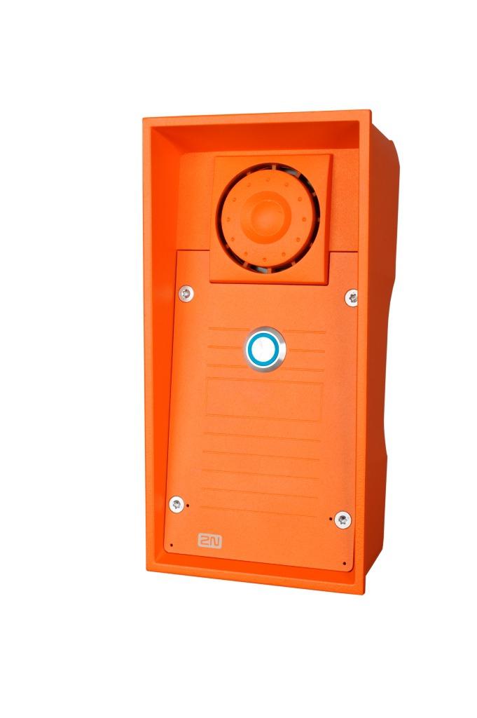 2N Telecommunications 9152101W Orange audio intercom system