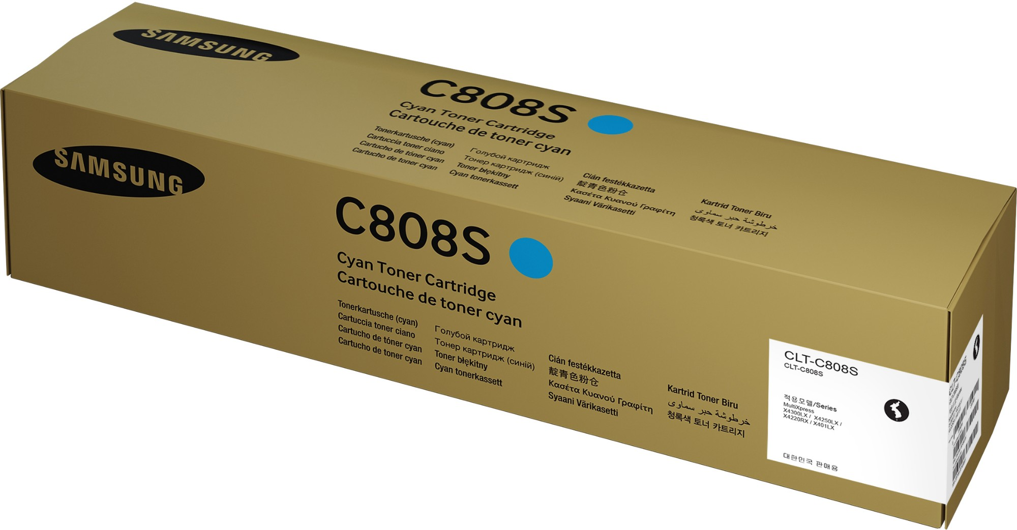 Samsung CLT-C808S Original Cian 1 pieza(s)