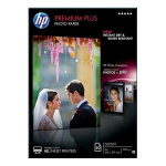 HP Premium Plus Glossy Photo Paper-50 sht/A4/210 x 297 mm