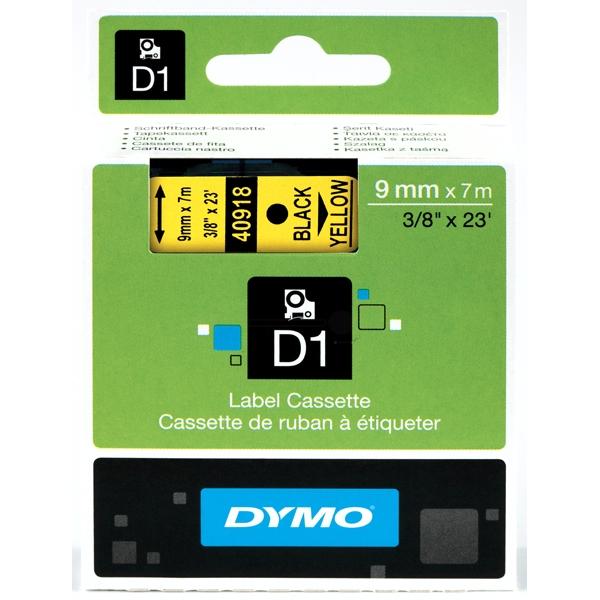 DYMO 40918 (S0720730) DirectLabel-etikettes, 9mm x 7m